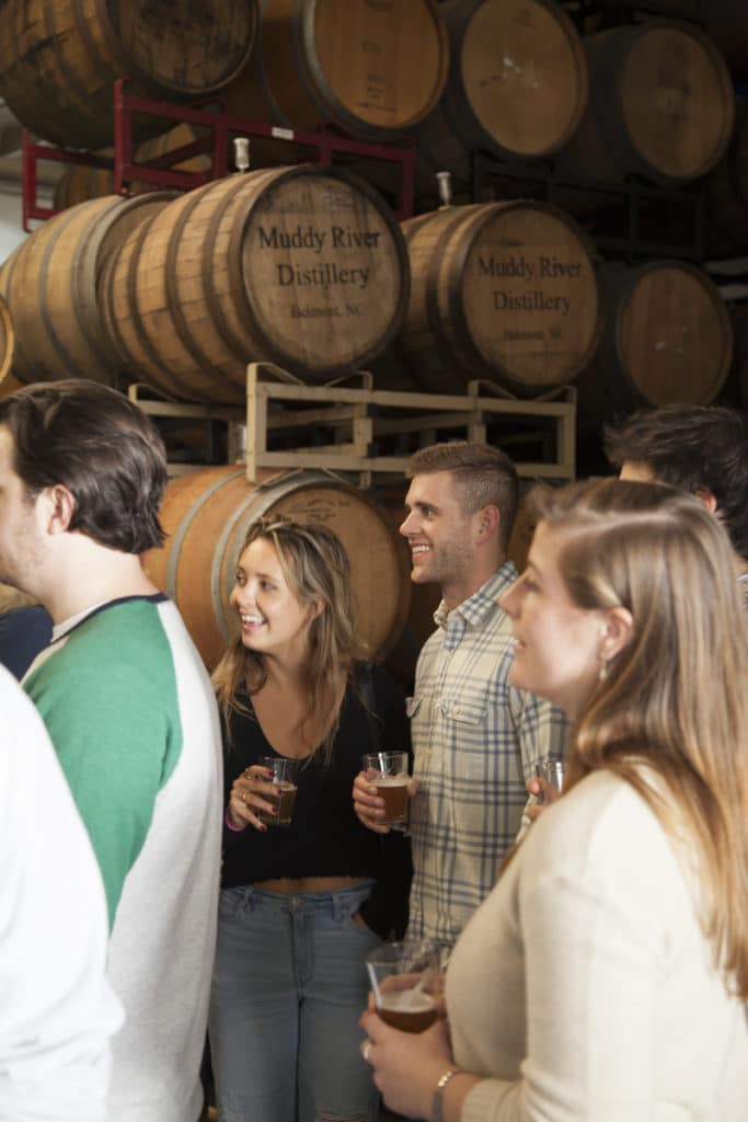 private brewery tour