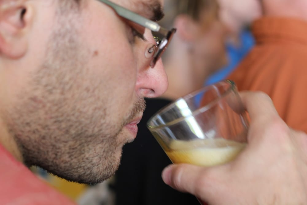 Asheville beer tasting