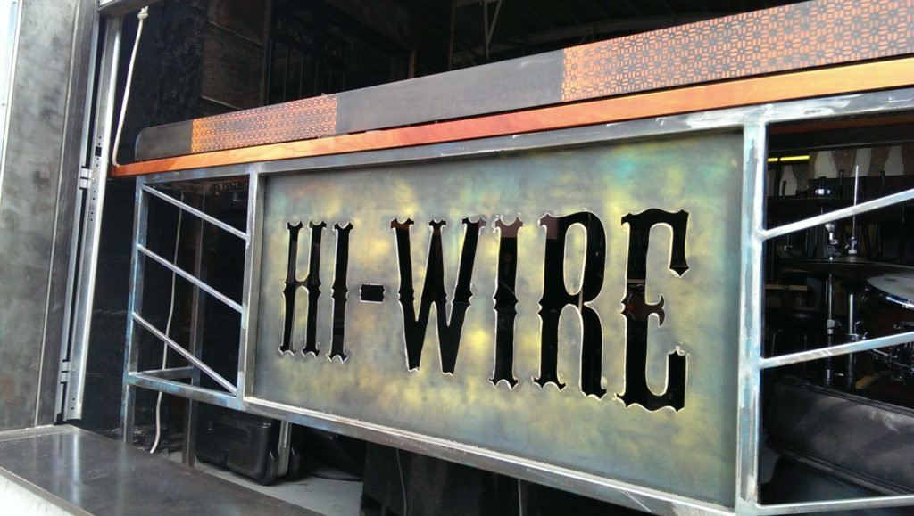 hi-wire brewery tour